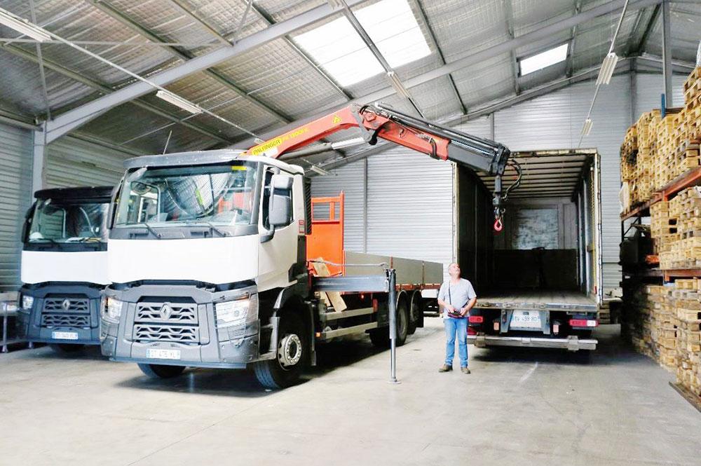 Transport de marchandises Isère